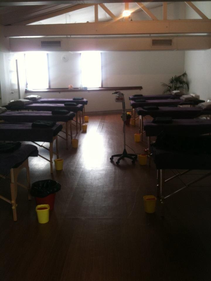 The Acupuncture Collective room