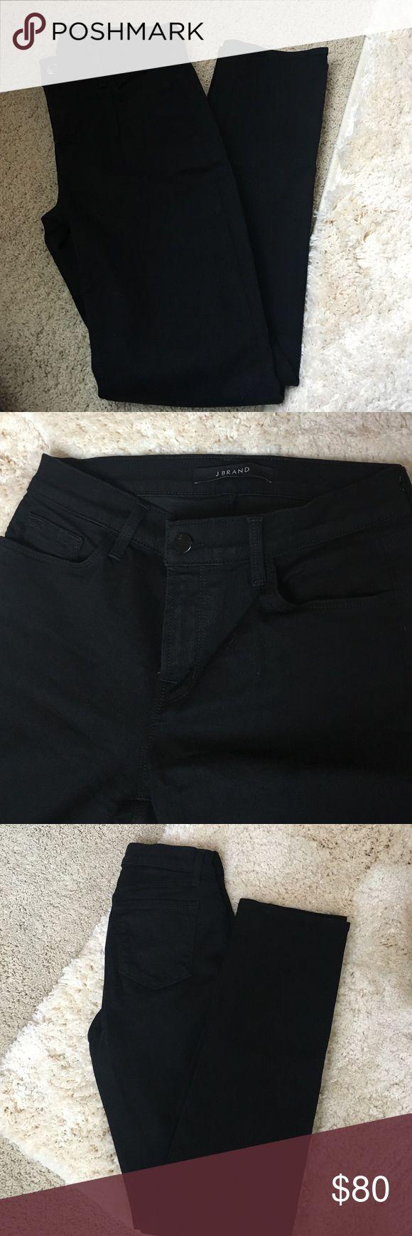 J Brand Vanity Black J Brand Vanity straight leg jeans. Only worn a couple times. Great condition! J Brand Jeans Straight Leg