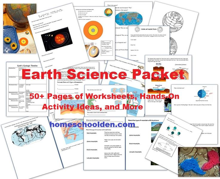 For a short time only, this impressive Earth Science packet is FREE! It includes worksheets on the solar system, the layers of the Earth, plate mo