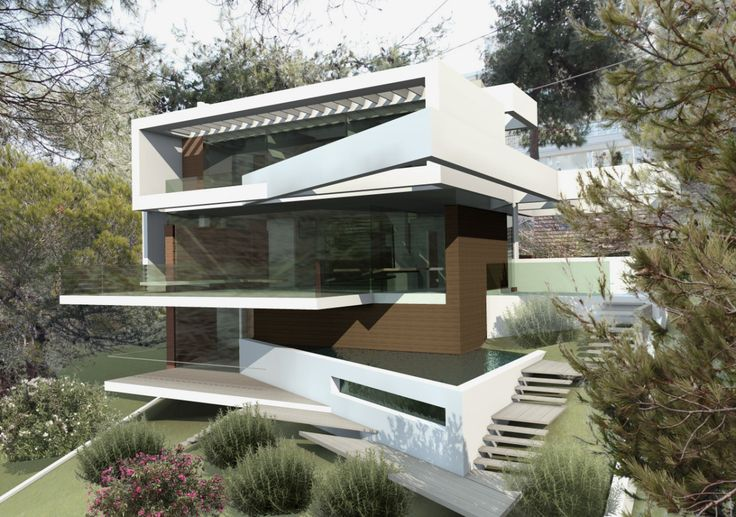 House in Dionisos 200m2 for g-p architects