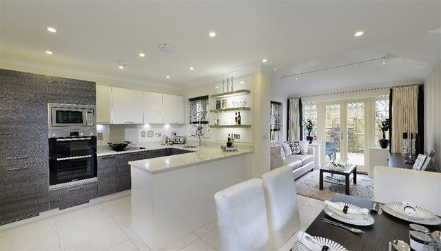 Open Plan Kitchen Dining Living Google Search Open