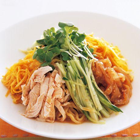 ごまだれ冷やし中華   小澤弘之さんのそばの料理レシピ   プロの簡単料理レシピはレタスクラブニュース