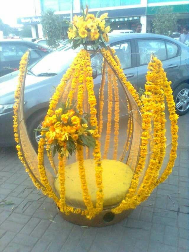 Flower bride entrance
