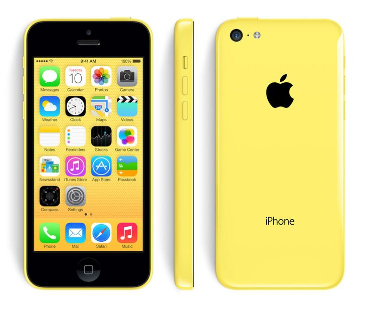 iPhone 5C Yellow by Apple. Color makes a statement and reveals your personality, this iPhone 5C come with 5 colors, this yellow iPhone come with A6 chip, 8MP iSight camera, 4-inch Retina display, fast LTE wireless and iOS 8. http://www.zocko.com/z/JJUab