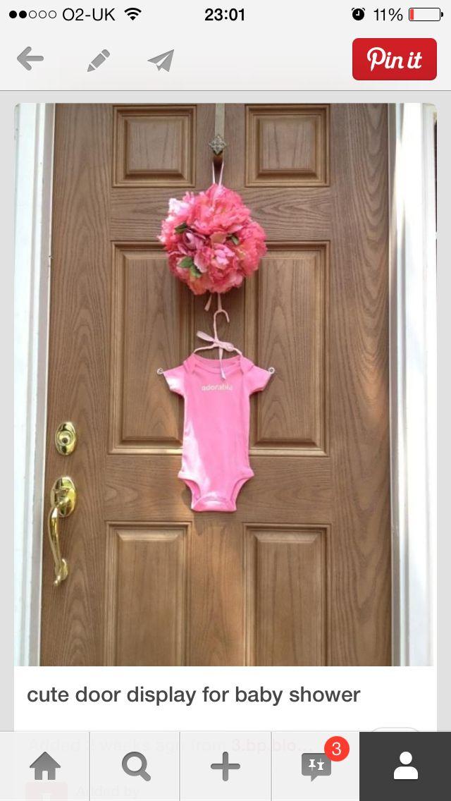 Nice Door Display For Baby Shower Baby T Baby Shower Pinterest