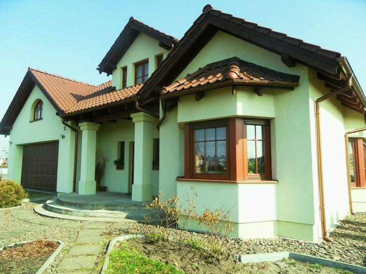 Wejście do domu Zacisze  #dom #wejście #projekt