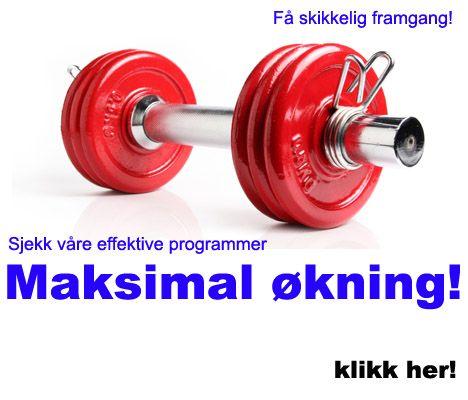 MANUAL vekter trening sjekk effektive programmer som er helt gratis fra trim.no.
