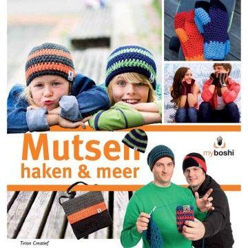 Myboshi Mutsen Haken & Meer - Haakboek