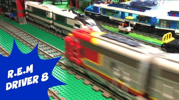 12 best LEGO TRAINS images on Pinterest | Lego trains, Engine and ...