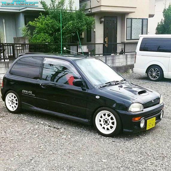 Rad Racer Subaru Vivio Rx R Hatchback Linkwpc Kei Car Subaru