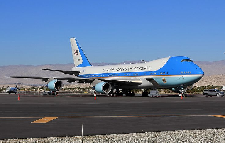 Air Force One in Palm Springs