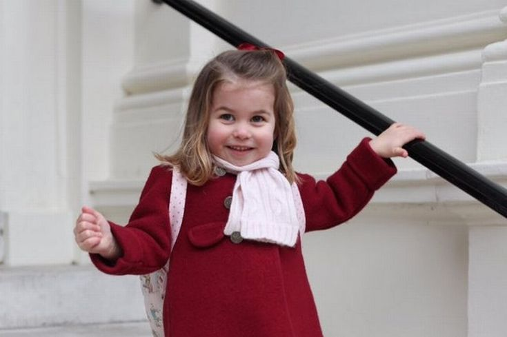Princess Charlotte beams on first day at nursery in adorable photos snapped by proud mum Kate Middleton - Mirror Online