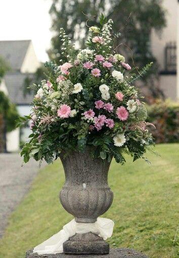 Large Floral Arrangement.