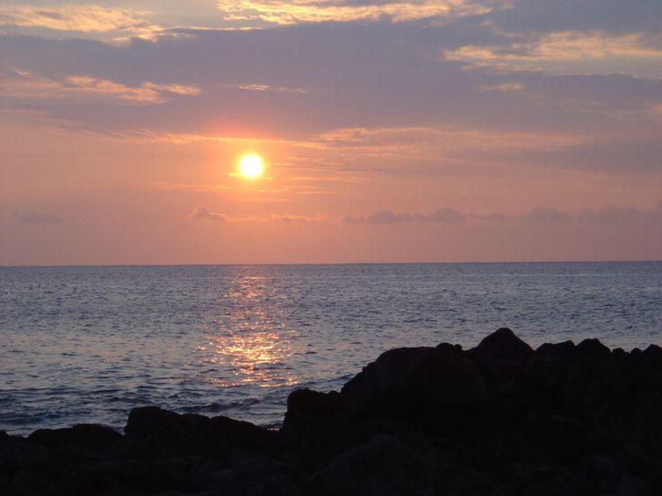 USA, Sunset, Big Island, Hawaii