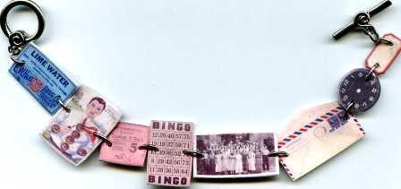 how cool is this! vintage ephemera bracelet!  http://www.etsy.com/listing/79941360/handmade-baubles-ephemera-keepsake