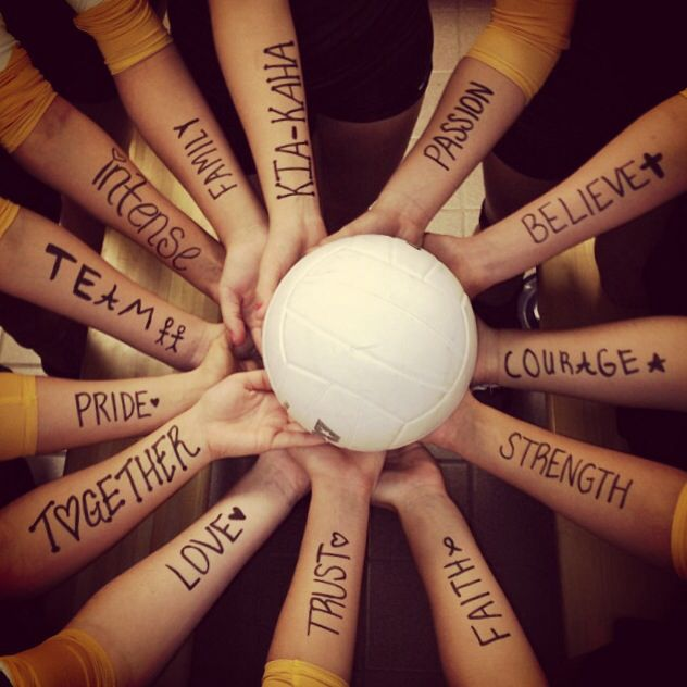 Can we do this at banquet? What a cool photo this would be!! Ask the varsity girls what they think...fun!! NETBALL
