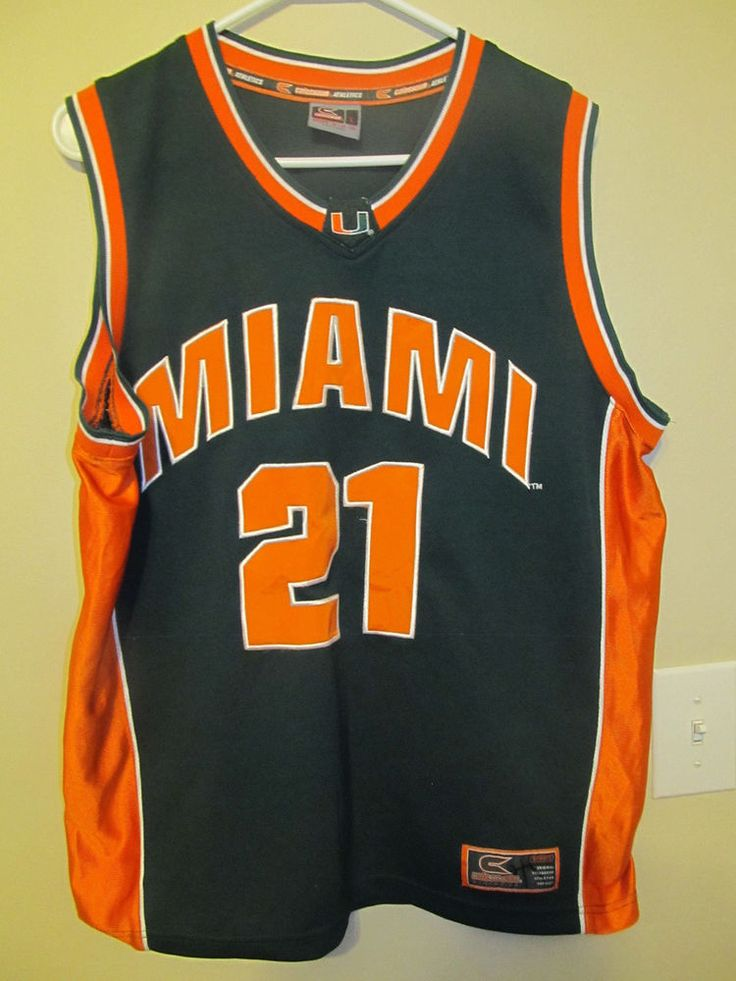 Miami Hurricanes Basketball jersey - Colosseum youth large #ColosseumAthletics #MiamiHurricanes