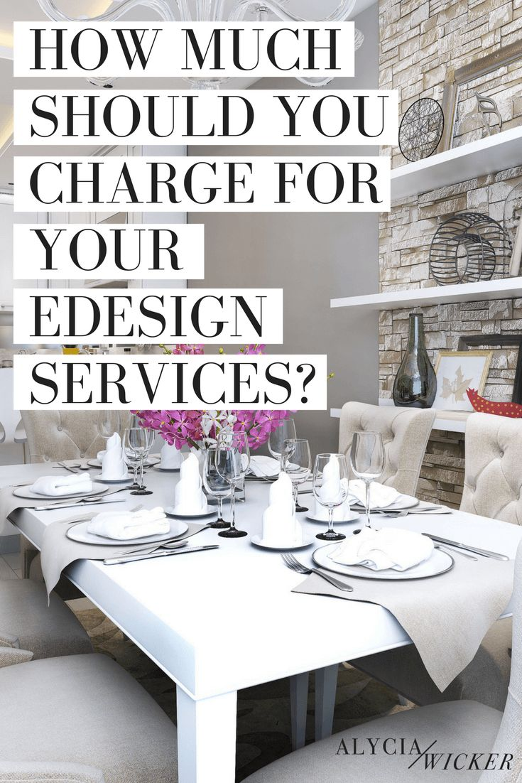 How To Charge For Interior Design Services