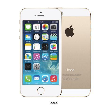 Apple® iPhone® 5S A7 64GB 4' Dual-Camera Smartphone - GSM Unlocked & Refurbished at 45% Savings off Retail!