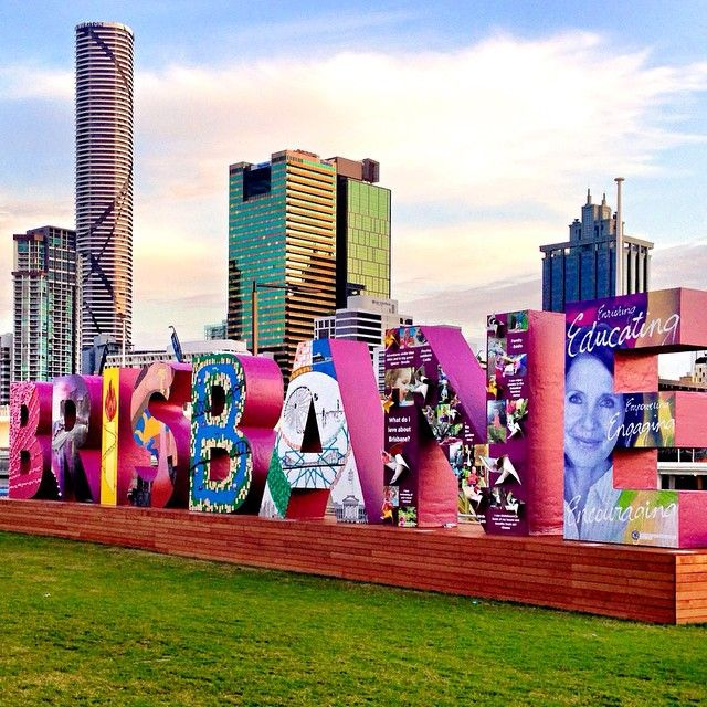BRISBANE - Ready for the G20  Image by @lady_brisbane #thisisqueensland