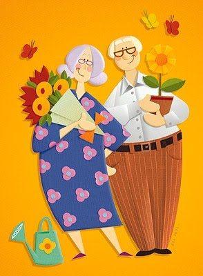 Avós - Parabéns a todos...
