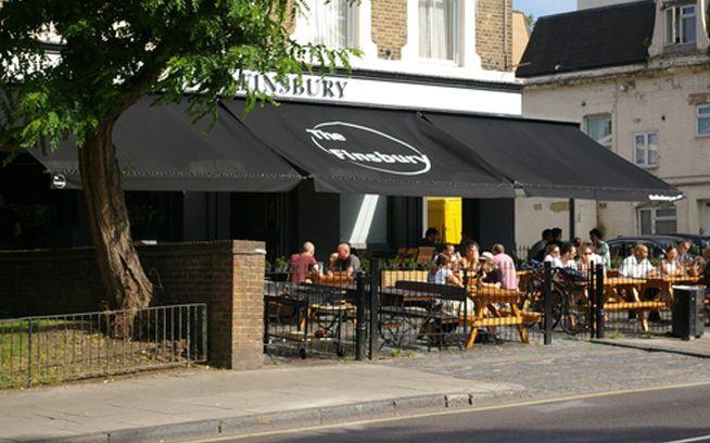 The Finsbury, Manor House - Pub / music venue (+Terrace)