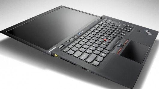 Lenovo's ThinkPad X1 Carbon weighs less than three pounds (1.3 kg).  Mmm NICE...