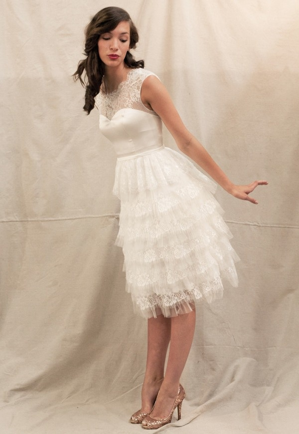 style first look natalie portmans ethereal white wedding dress