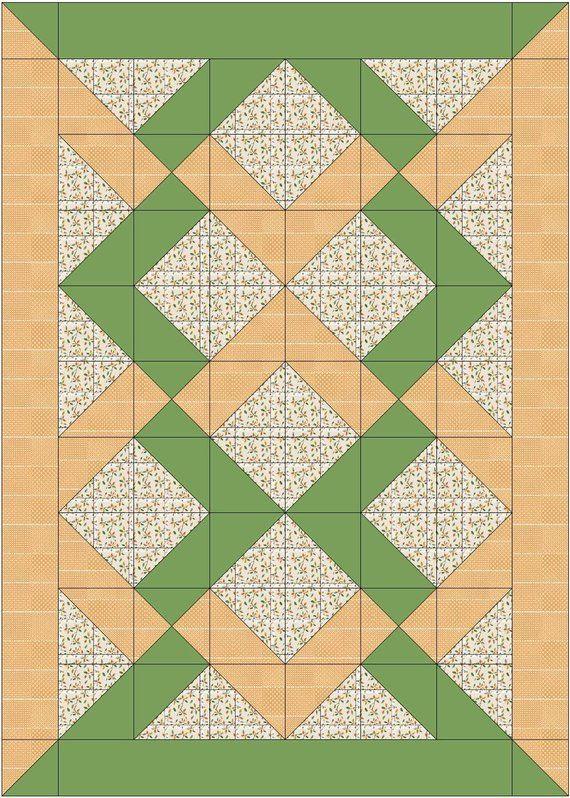 Baby Argyle Knot Quilt Pattern