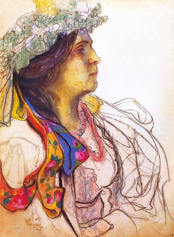 Wanda Siemaszkowa (Stanislaw Wyspianski - 1902-03)