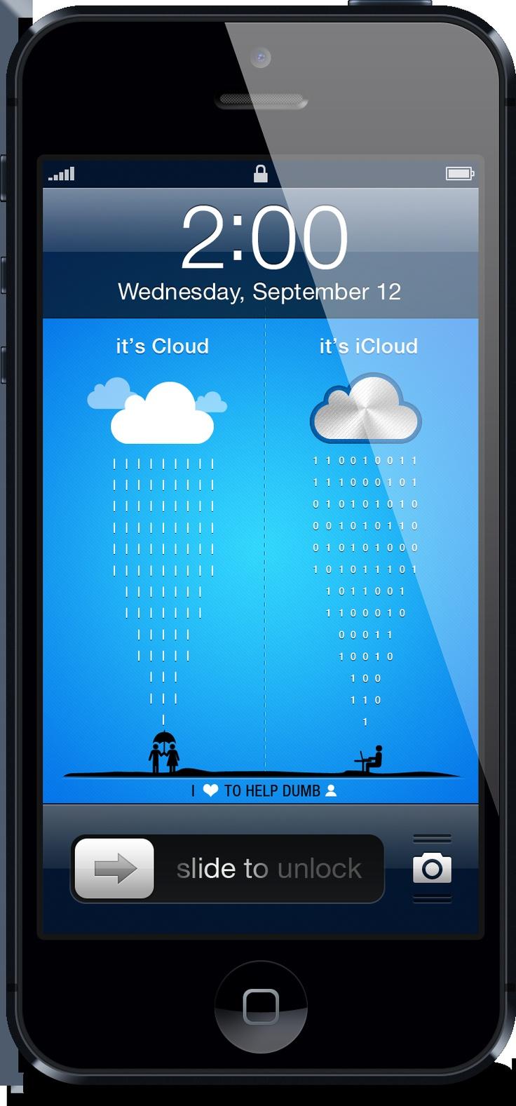 cloud vs icloud