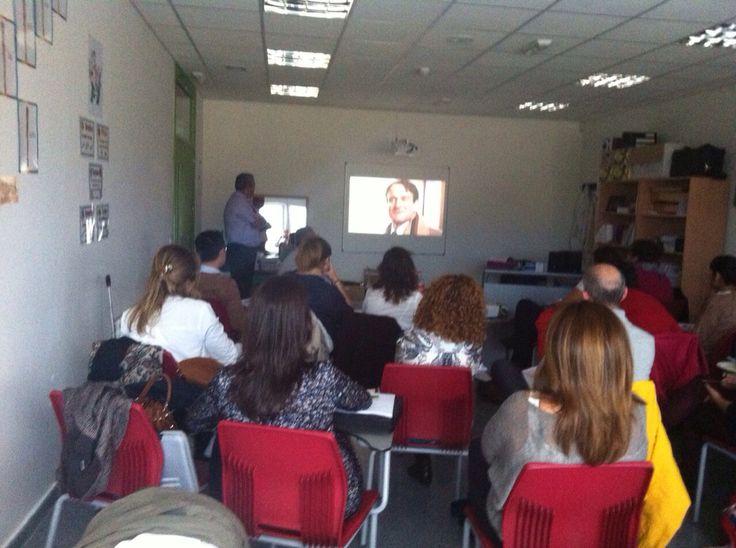 """Plan de Acompañamiento de los profesores nuevos. """"Profesores de Cine"""" por Jorge de la Fuente."""