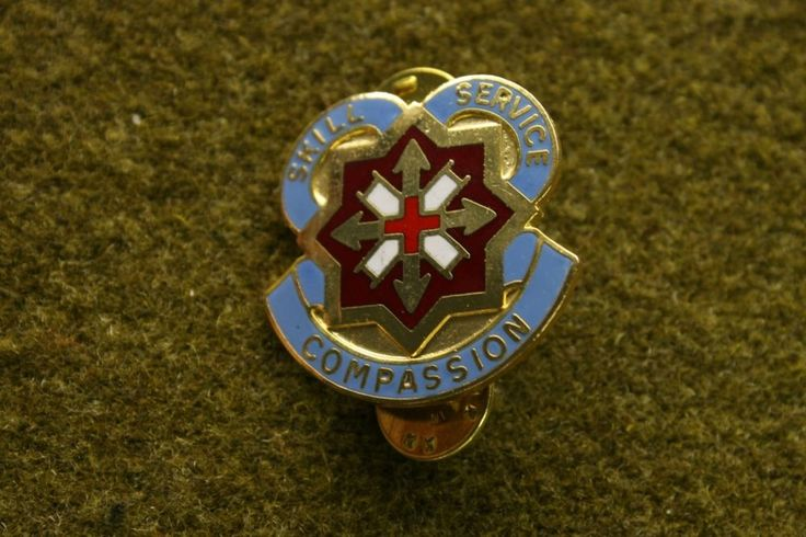 6403)+DI+144th+Combat+Support+Hospital+Medic+Insignia+Crest+Military+Pin+Medal