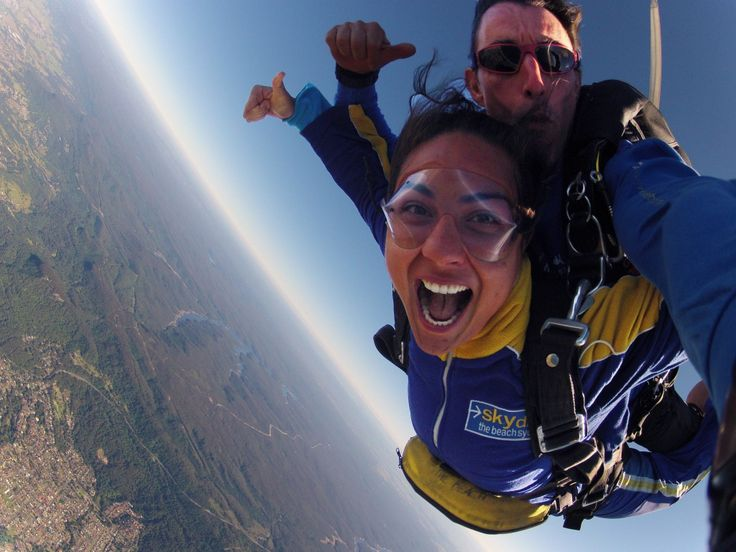 Life's better in freefall! Yaaahooo!