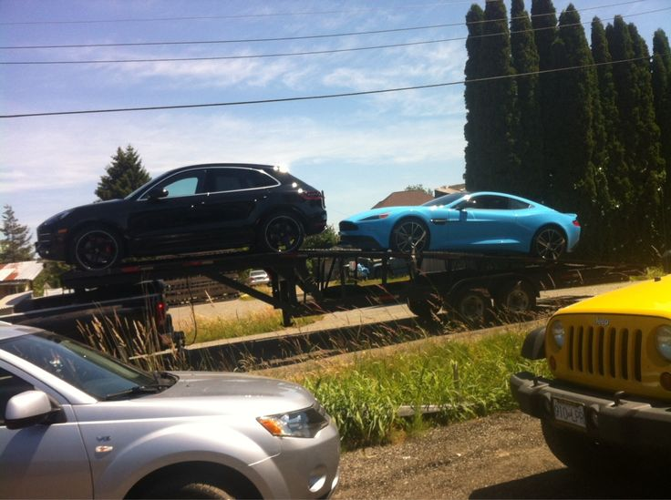 Dream~ 2015 Porsche Macan S & a baby blue 2014 Aston Martin vanquish that's first owner was jay Leno.   Kinda cool!