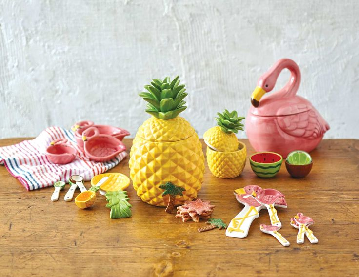 Turn baking time with the kids up a notch with our whimsical selection of novelty ceramic kitchen tools and accessories. Our unique measuring spoons, cookie jars and measuring cups are sure to cook up sweet smiles - even before the cookies come out of the oven. www.worldmarket #WorldMarket Home Decor