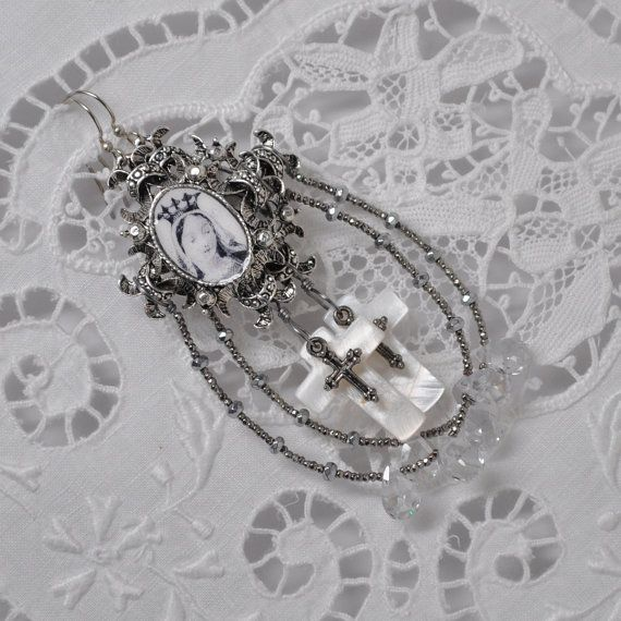Medieval Mary / Queen of Heaven Assemblage by DanetteDarbonne