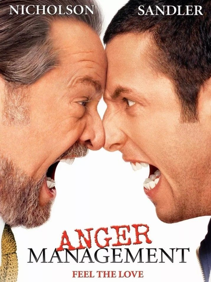Anger Management 2003 Comedy Movies Posters Comedy Movies Anger Management