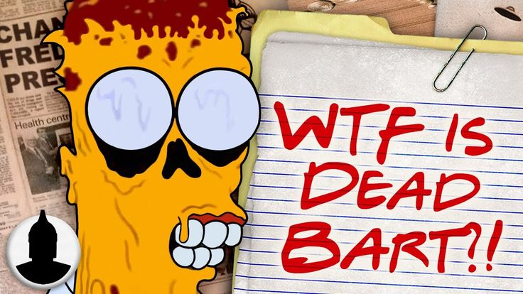 The Dead Bart Conspiracy EXPLAINED - The Simpsons Cartoon Conspiracy (Ep. 160) - YouTube