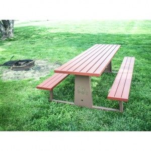 Our Spruce Picnic Tables Are The Best On The Market! Its No Tip And