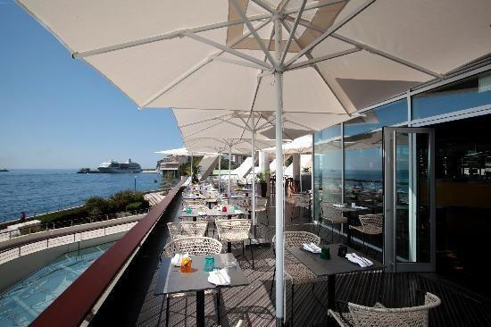 Cafe in Monaco