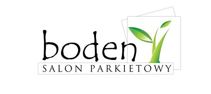Projekt logo dla firmy Boden. Realizacja widoczna pod adresem www.boden.pl