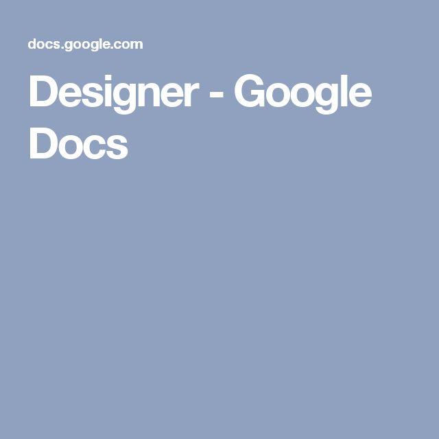 8 best CMCI Resume Documents images on Pinterest Google docs - cover letter templates google docs