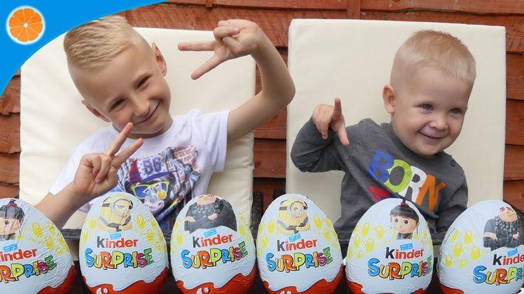 Despicable Me 3 Kinder Surprise Eggs | Minions | Blue Orange