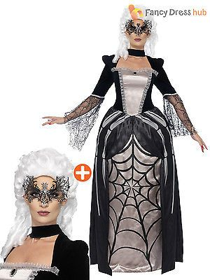 #Ladies #gothic black widow spider halloween masquerade fancy dress #costume wome,  View more on the LINK: http://www.zeppy.io/product/gb/2/201390154419/