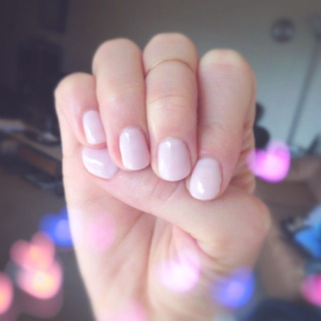 Cnd Shellac In Beau A Nice Neutral Pink Everyday Nails Pinterest Cnd Shellac