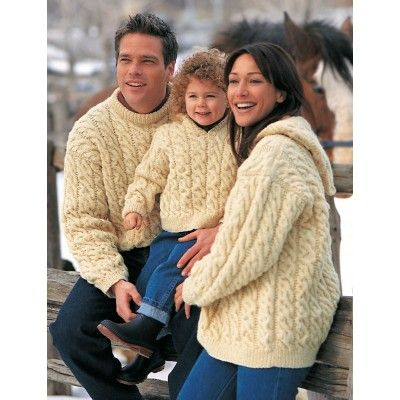 Family Cables - Knitting Patterns - Patterns | Yarnspirations
