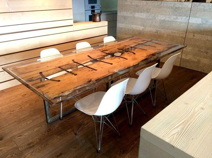 17 migliori idee su Tavoli Da Pranzo In Legno su Pinterest  Tavoli da pranzo, Tavoli in legno e ...