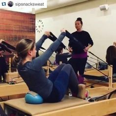 Keeping with the San Francisco workshop theme, here's #InspireMeMonday video three ❤️❤️❤️ For more flows on this C-Curve series, sign up for my Orange County or Las Vegas workshops happening this April! Video from @sipsnacksweat Like her video so she can win some @toesox gear! #Repost @sipsnacksweat ・・・ An amazing and fun weekend with @courtneymillerpilates and a beautiful crew of Pilates people at @mightypilates. Thanks for inspiring, Courtney. I'll #highfive you any day…