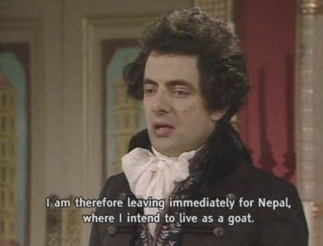 Black Adder the First quote